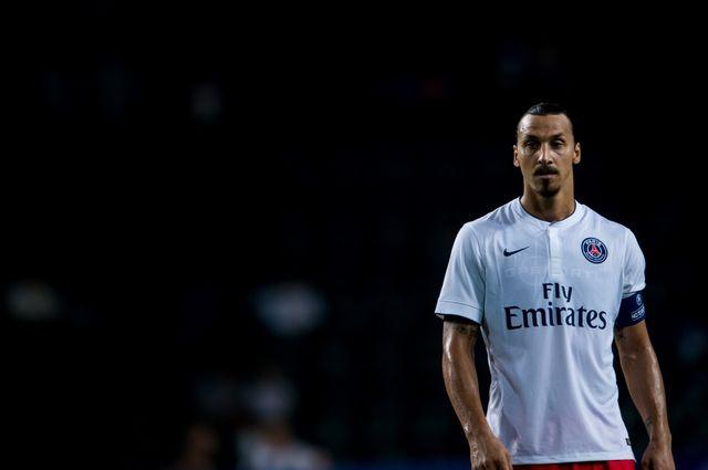 Zlatan Ibrahimovic du Paris Saint-Germain, 29 juillet 2014