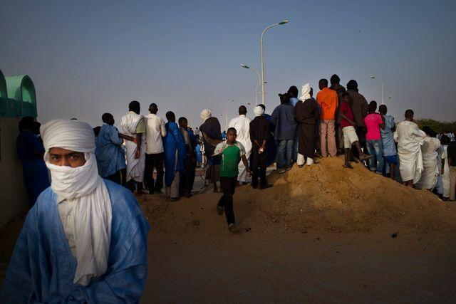 Manifestation d'esclaves en Mauritanie
