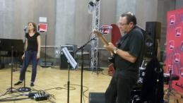 Dorothée Goll et Patrick Troubadour au studio 107 par S Noël