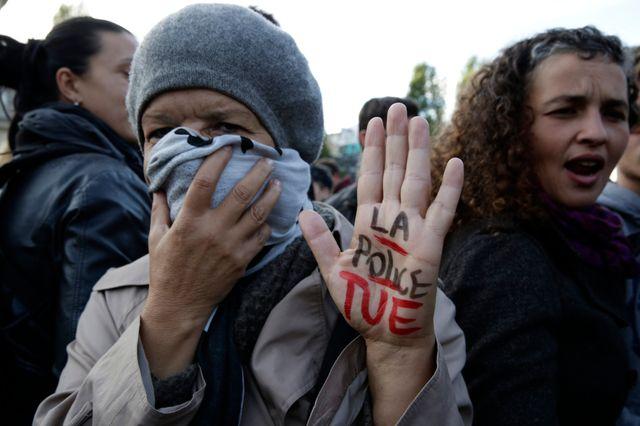 Manifestation à Paris en février 2014