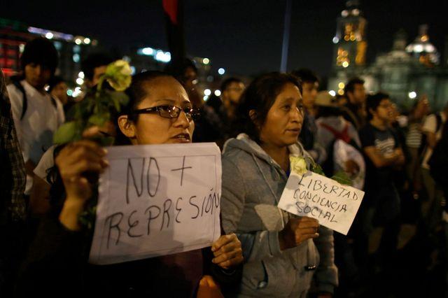 Vague de manifestations au Mexique après la disparition de 43 étudiants