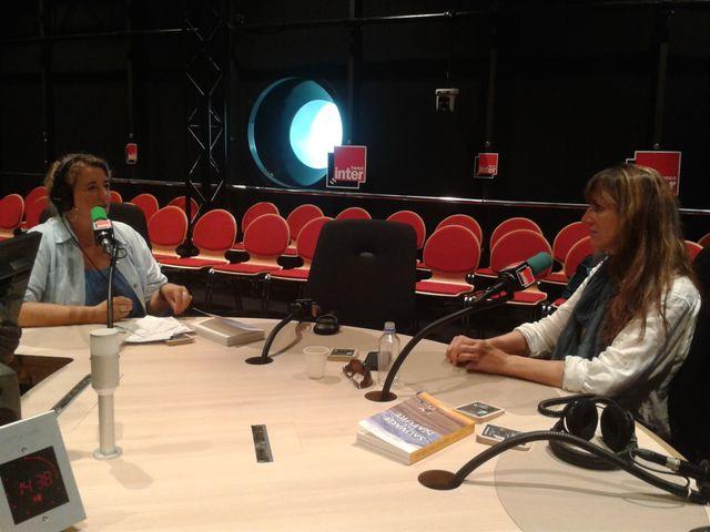 Sarah Marquis en studio avec Marie-Pierre Planchon