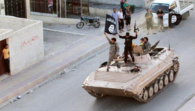 Combattants de l'organisation État islamique en Irak