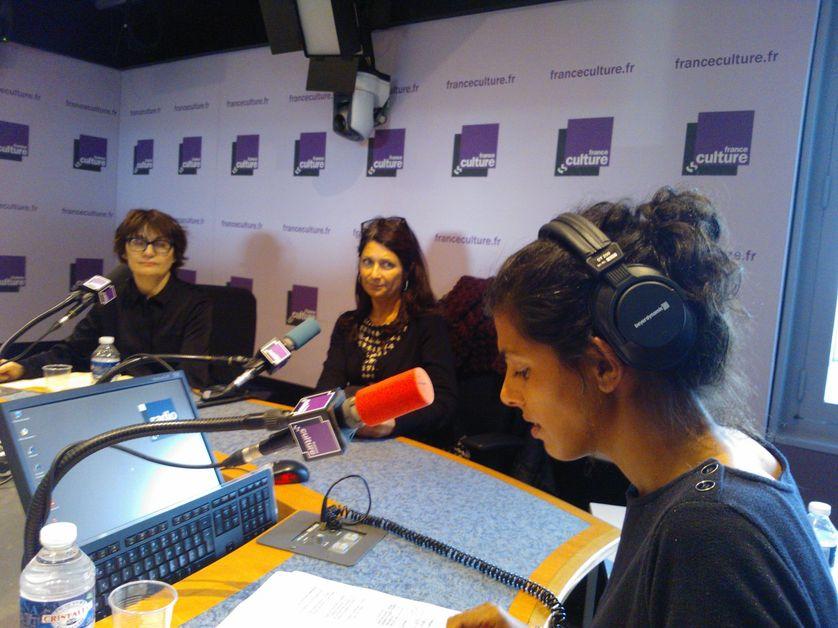 Sophie Pène, Libie Cousteau et Louise Tourret