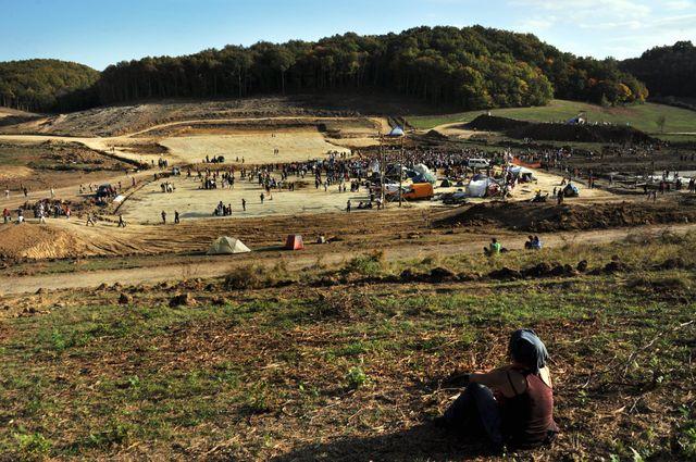 Le site du barrage de Sivens