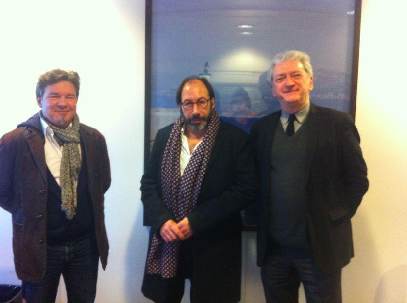 Eric Dussert, Eric Walbecq et Lucien X. Polastron