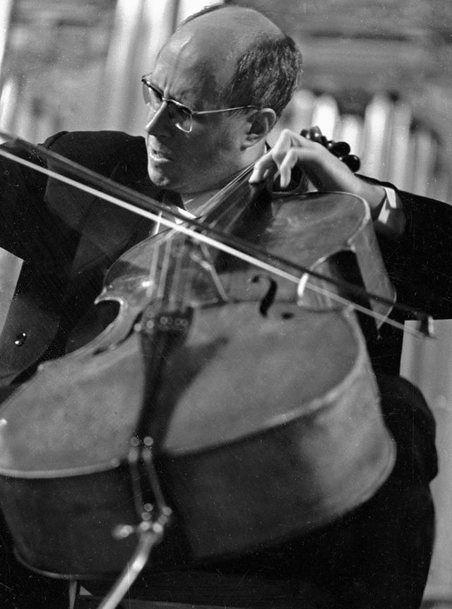 Mstislav Rostropovich en 1959