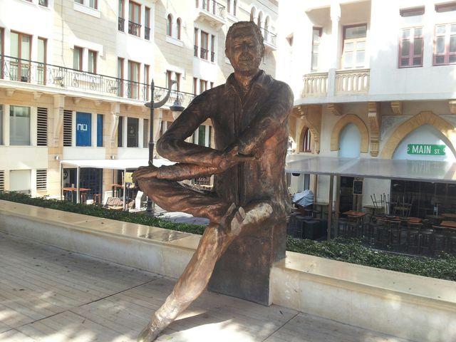 Statue de Samir Kassir