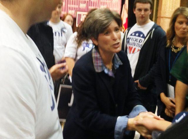 Joni Ernst, sénatrice dans l'Iowa