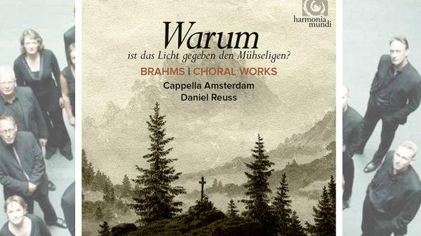 L'ensemble vocal Cappella Amsterdam dirigé par Daniel Reuss joue les Oeuvres de choeur de Brahms