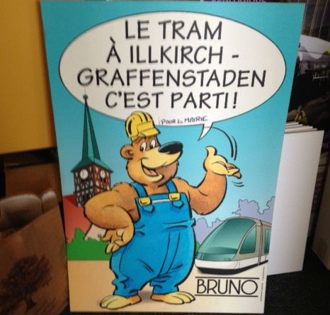 tramway Strasbourg Ours Bruno - Aucun(e)