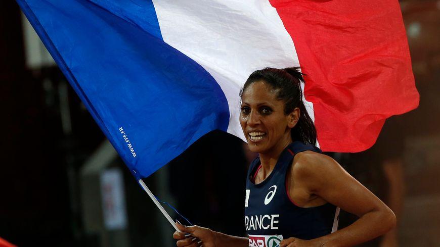 La Française Laila Traby, médaillée de bronze sur 10.000 m aux Championnats d'Europe d'athlétisme à Zurich en 2014
