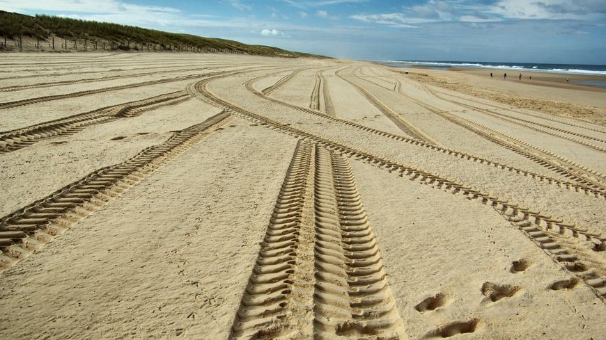 La plage du Grand Crohot, à Lège-Cap Ferret (Gironde).
