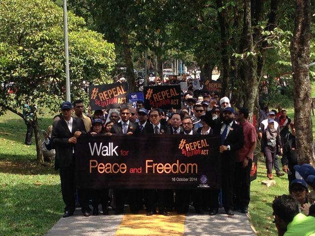 Durcissement de la répression politique en Malaisie