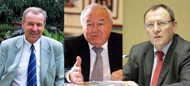 Lucien Degauchy, Bernard Brochand, Bruno Sido