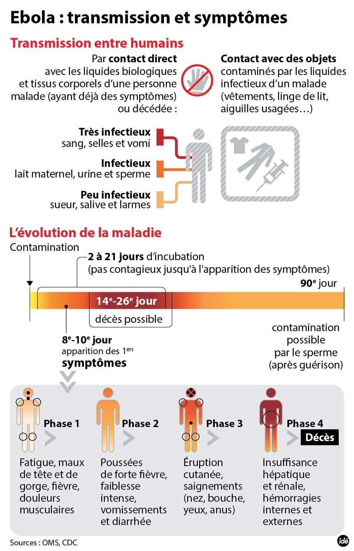 Ebola, comment se transmet le virus ?