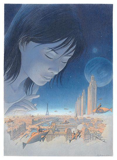 "Extrait de ""Revoir Paris"" de François Schuiten et Benoît Peeters"