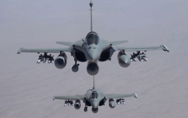 Des rafales en Irak