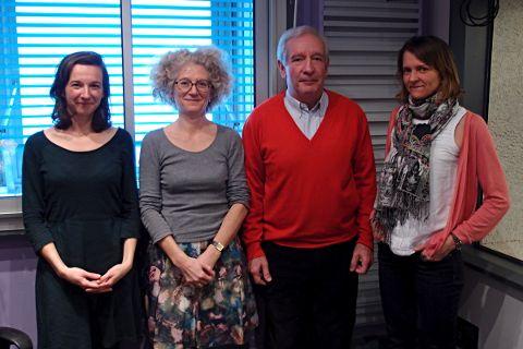 Céline Hoyeau, Laurence Brunet, Michel Tournaire et Hélène Périvier