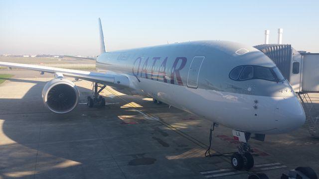 A350 livré à Qatar Airways
