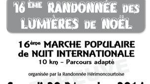 Participez à la randonnée des lumières avec France Bleu Belfort Montbéliard