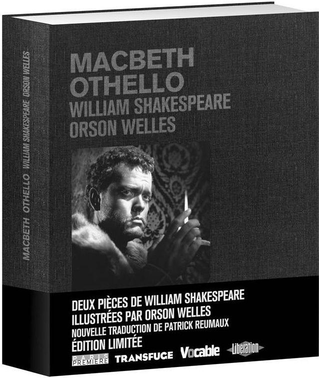 livre Shakespeare éditions Carlotta