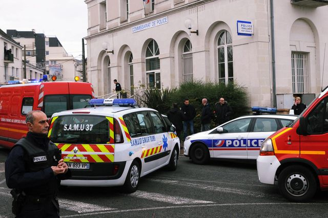 Agression au commissariat de Joué les Tours