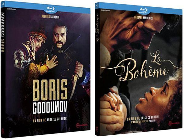BORIS GODOUNOV (Andrzej Żuławski, 1989) / LA BOHEME (Luigi Comencini, 1988) - 2 Blu Ray Gaumont