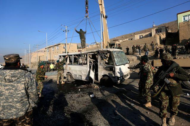 Un autre attentat à Kaboul a coûté la vie à six soldats ce jeudi matin.