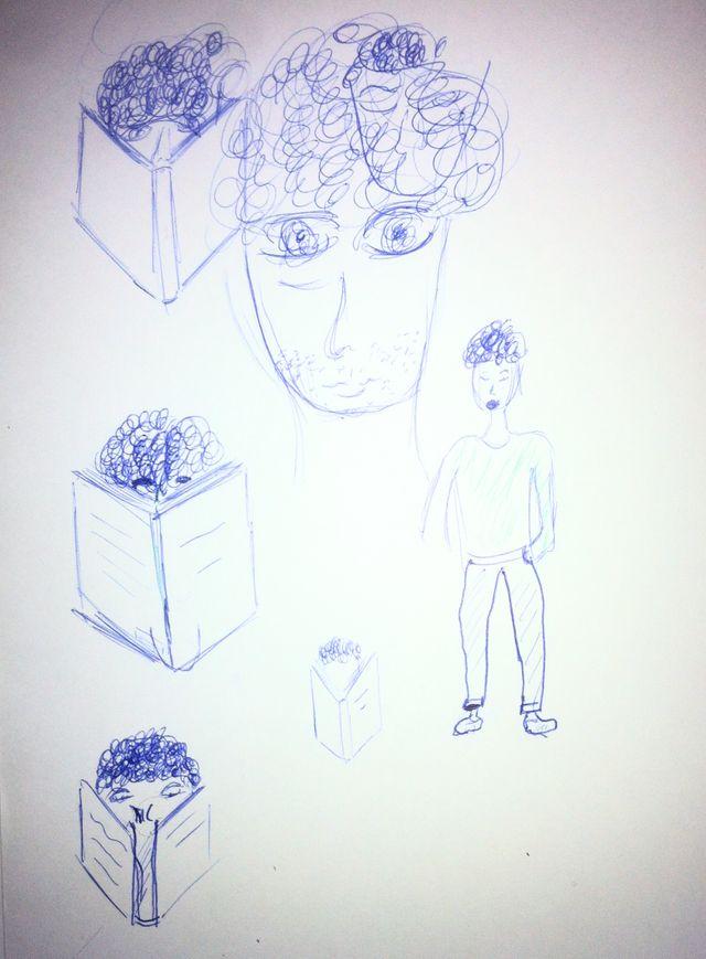 L'autorportrait de Quentin