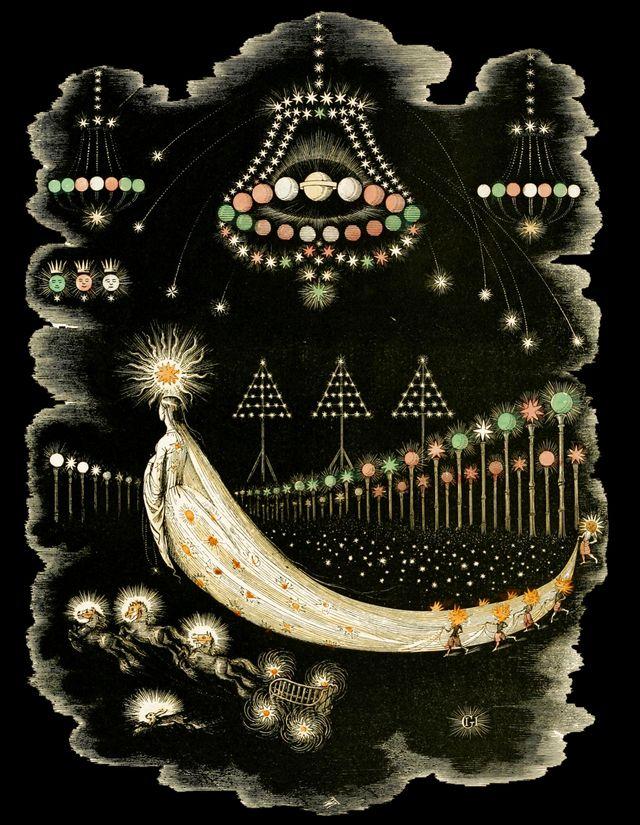 « Les pérégrinations d'une comète » (1844)