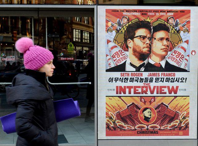 L'Interview qui tue sera finalement projeté dans un peu plus de 200 salles aux États-Unis.