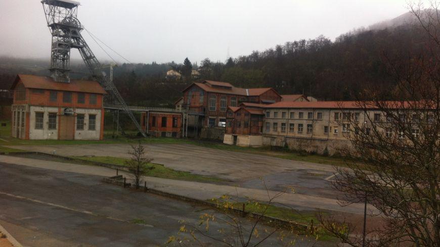 Le site du puits Couriot à Saint-Étienne