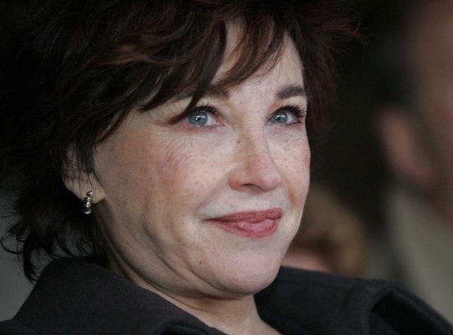 Marlène Jobert, l'actrice inaugure une école maternelle portant son nom, 21/11/2006.