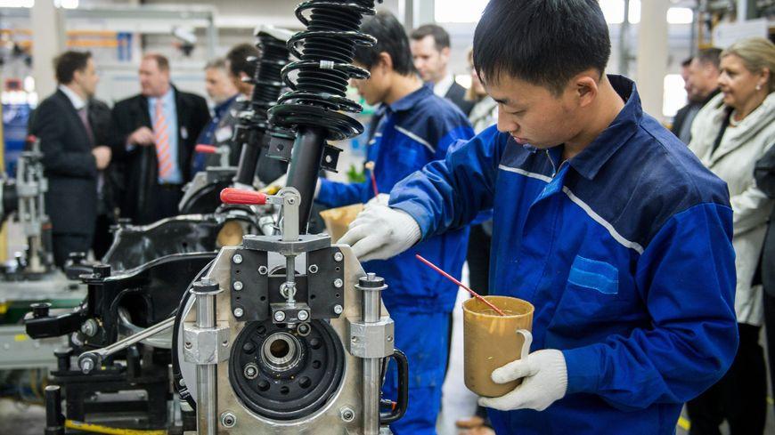 chine usine travailleur chinois
