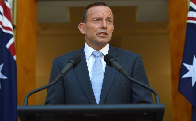 Le Premier ministre australien, Tony Abott