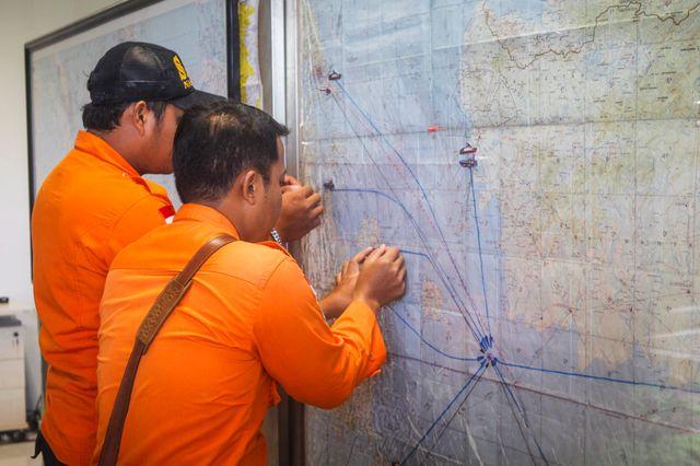 Les recherches se concentrent au-dessus de la mer de Java.