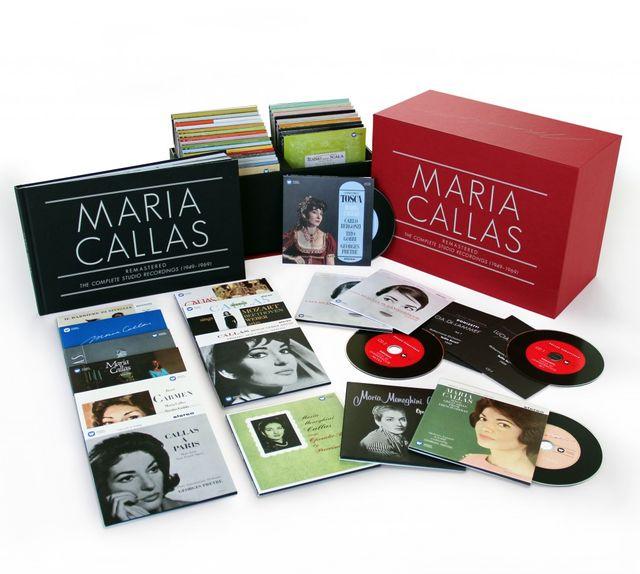 Maria Callas-coffret chez Warner