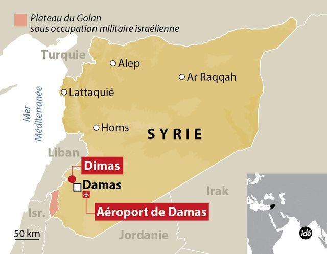 Les raids israéliens en Syrie