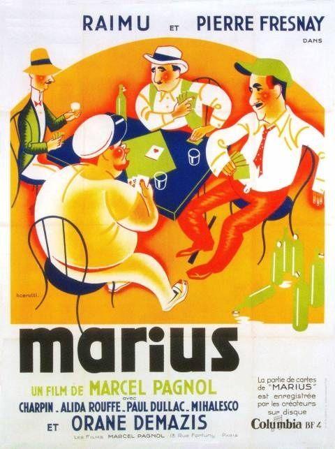 """Affiche du film """"Marius"""""""