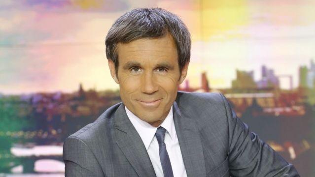David Pujadas, à la tête du JT 20h de France 2