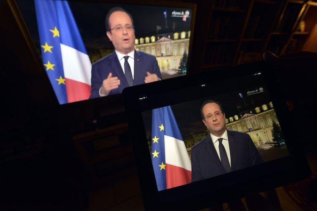 François Hollande s'exprimera depuis son bureau à l'Élysée.