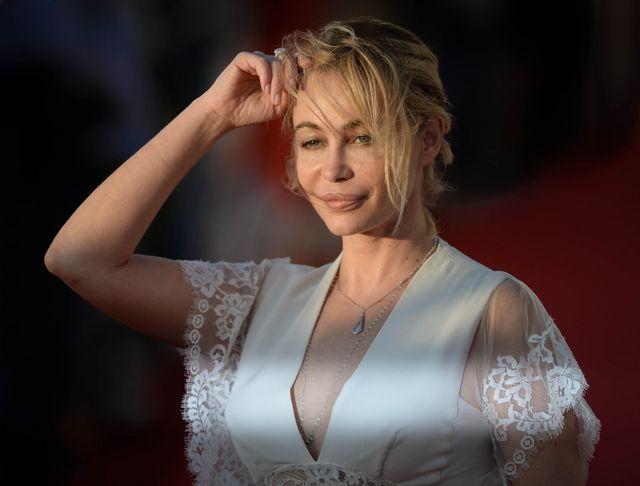 Emmanuelle Beart au festival du Film romantique de Cabourg