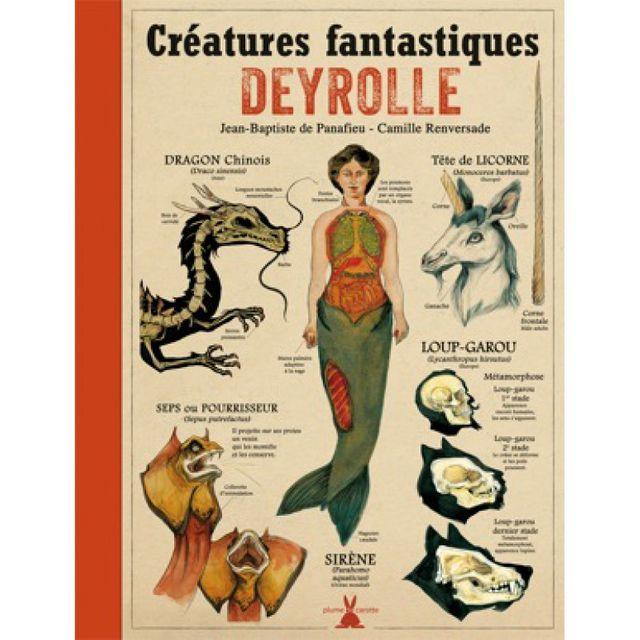 Deyrolle- Créatures fantastiques