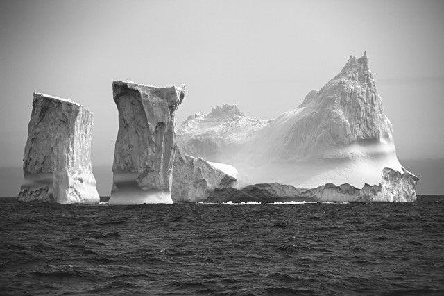 Le temple de glace  (Antarctique, janvier 2011)