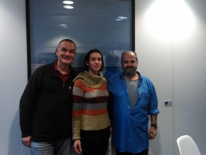 Jean-Pierre Filiu, Camille de Rouvray et Ossama Mohammed