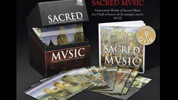 Coffret Sacred Music : les chefs-d'oeuvre de la musique sacrée