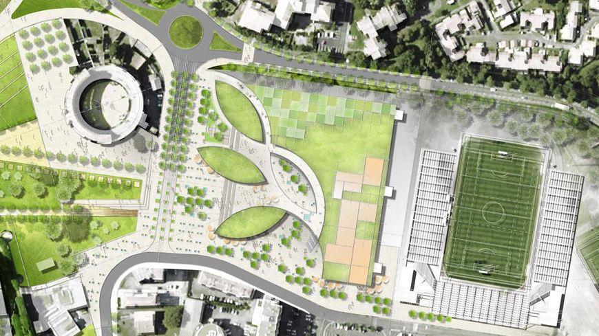 Le projet proposé par le cabinet Faulknerbrowns architects.