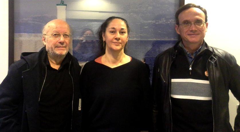 Yvon Le Bot, Hélène Roux et Alain Musset