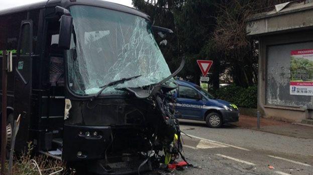 Accident de car à Saint-Martin-d'Uriage